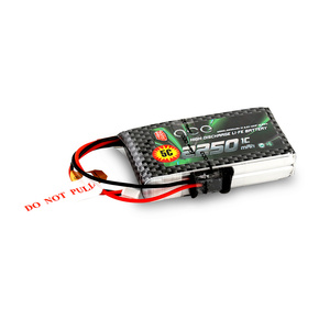Image 4 - Gens ace 2250mAh 6.6V 2S1P LiFe Battery Pack with BBL1 Futaba 3P Plug for 14SG 4PLS T8J Remote Control