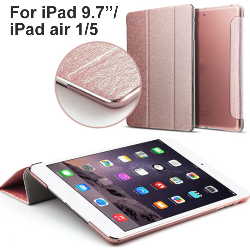 Brand New Ultra Slim Lightweight Smart Stand Tablet Case Smart Cover With Flexible Soft TPU Back Cover For Ipad 9.7/Ipad Air