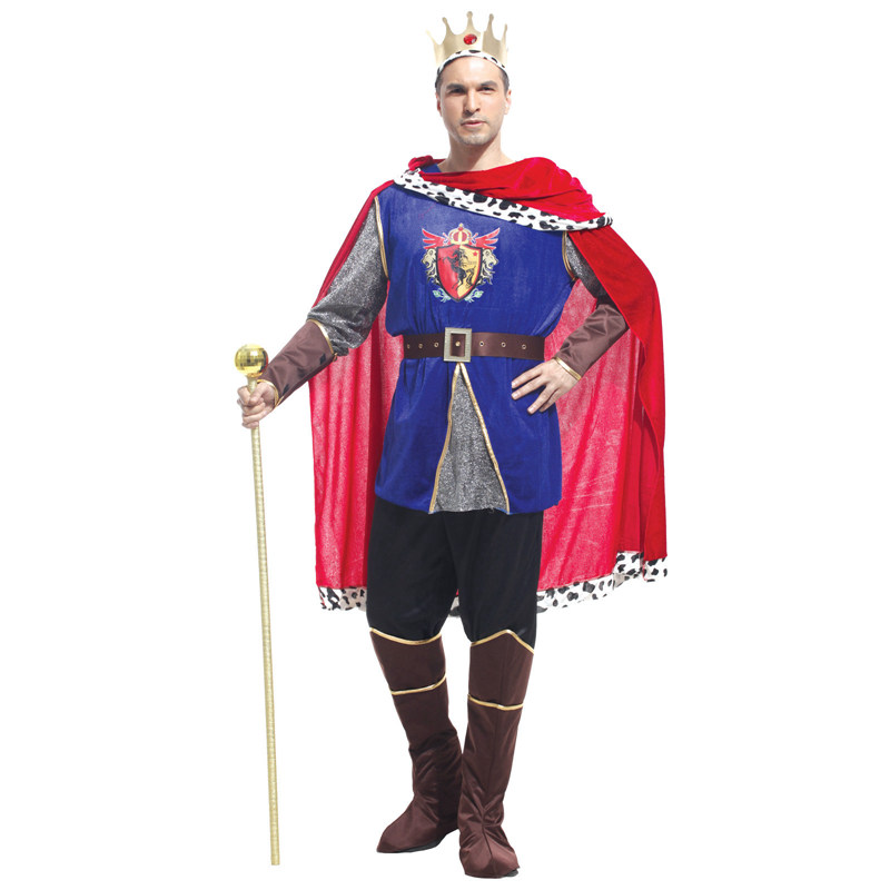 Shanghai Story Arab Prince king Cosplay costumes Men Halloween Costumes Masquerade Party clothing for man size S M