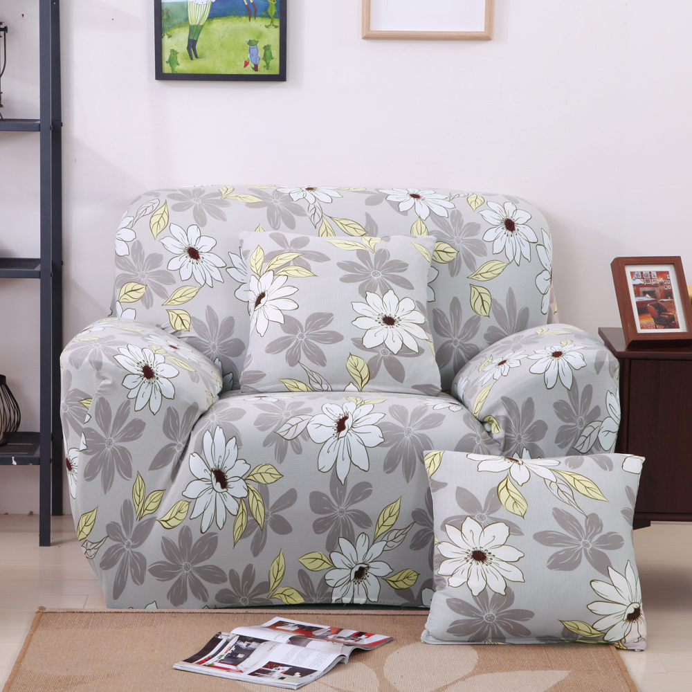 Sectional Couch Covers L Shaped Sofa Cover Elastic