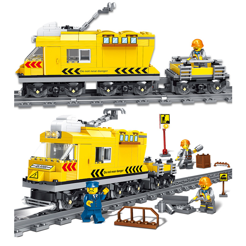 322pcs Boys assembled City Series gallop train train track children puzzle toys which are legoed soldiers numbers bricks special preschool children tong yizhi world map flags inserted wooden jigsaw puzzle assembled three dimensional toys no