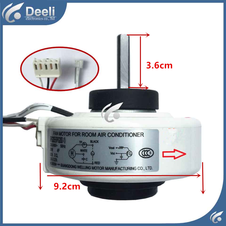 new good working for Air conditioner Fan motor machine motor RPG20E (RPG20D-2) good working стоимость