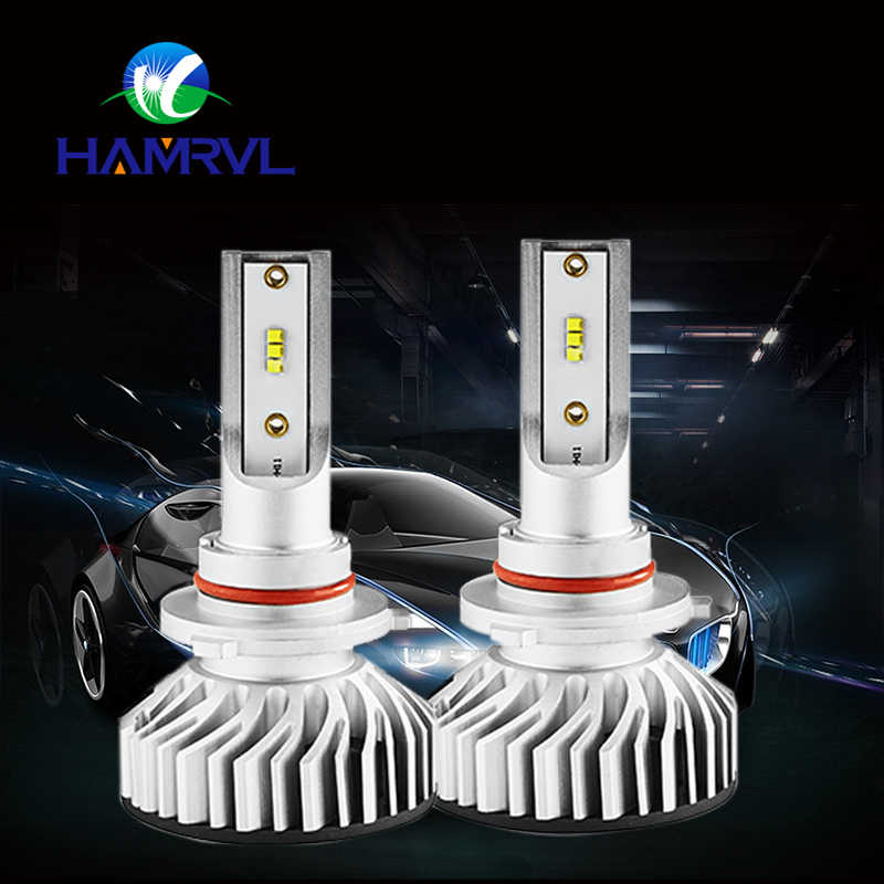 400PCS Mini 60W 10000LM/Set Independent Drive H7 LED Headlights For Cars Super Silent Fan 6500K ZES Chips Led Car Headlamp F2