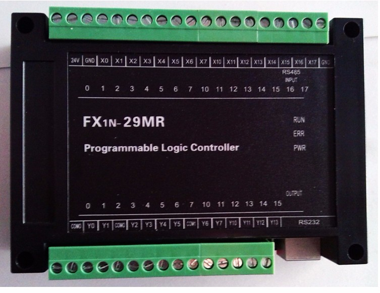 PLC programmable logic controller FX1N28MR download online monitoring power off keep text PLC Board plc programmable logic controller fx1n28mr download online monitoring power off keep text plc board
