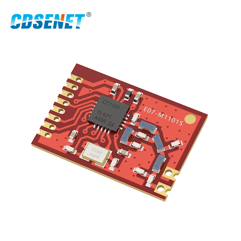 433MHz CC1101 rf Wireless Module CDSENET E07-M1101S 10dBm 400m Transmitter and Receiver 433M Moduel