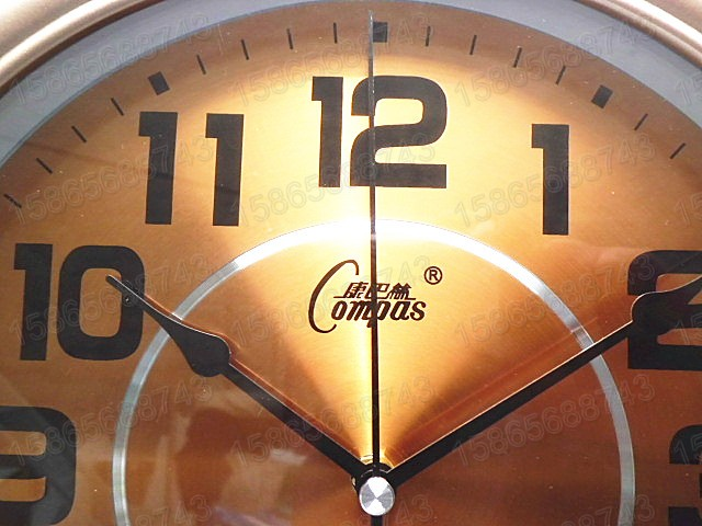 Crafts Arts Home decoration Conbas wall clock watch European antique ...