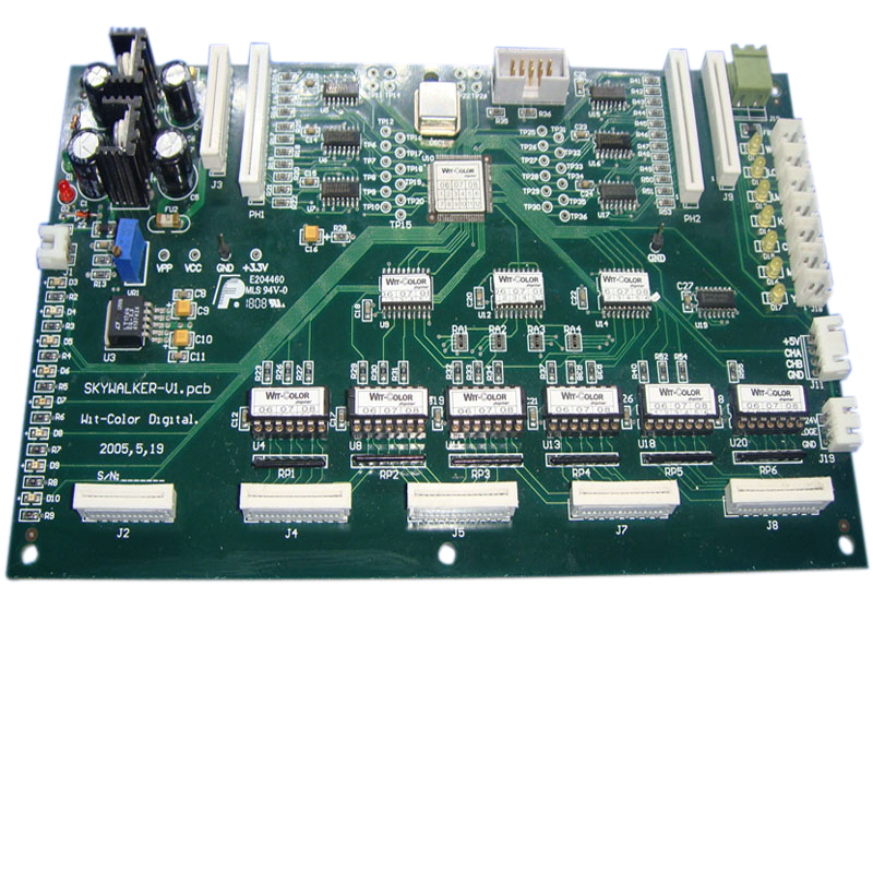 Carriage Control Board for WIT-COLOR Ultra 1000 skywalker Printer original new xaar 128 print head for wit color skywalker inkjet solvent printer machine