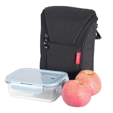 Homens e Crianças Bolsa de Piquenique Térmico com Zíper Bolsa Isolado Leve Mini Almoço Lancheira Mais Fria Mulher Duplo Bolsas