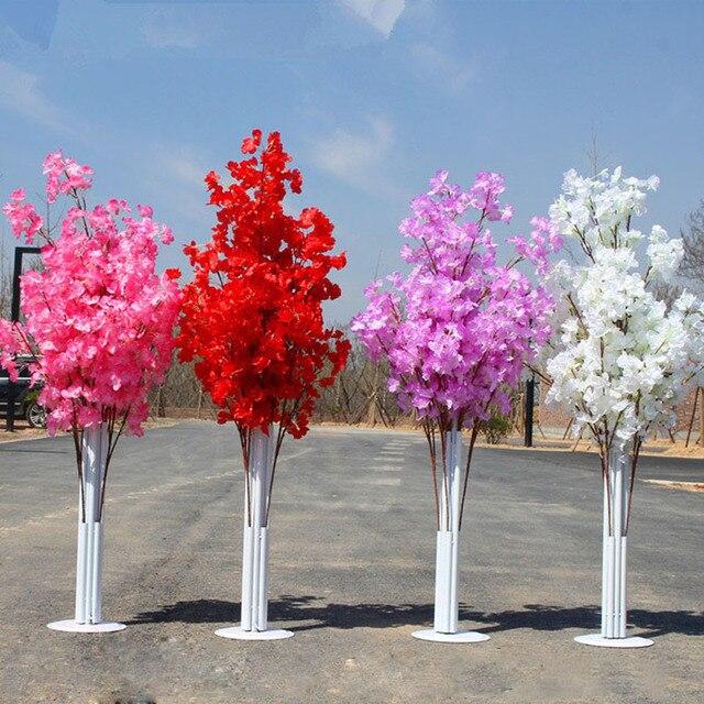 Center de table fleur de cerisier arbre | Couloir subvention événement, leader de route, fleur de mariage, arc de route de la mariée marié, accessoires de photographie
