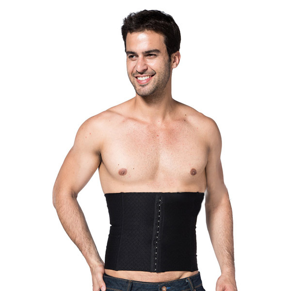 Men's Burn Fat Corset Cincher Tummy Body Control Shaper Girdle Belt Shapewear