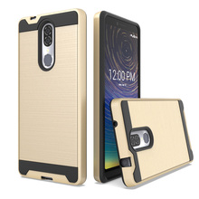 For Coolpad Legacy / Alchemy  Dual Layer Hybrid Brushed Armor Case Anti Shock Soft TPU&Hard Back Cover
