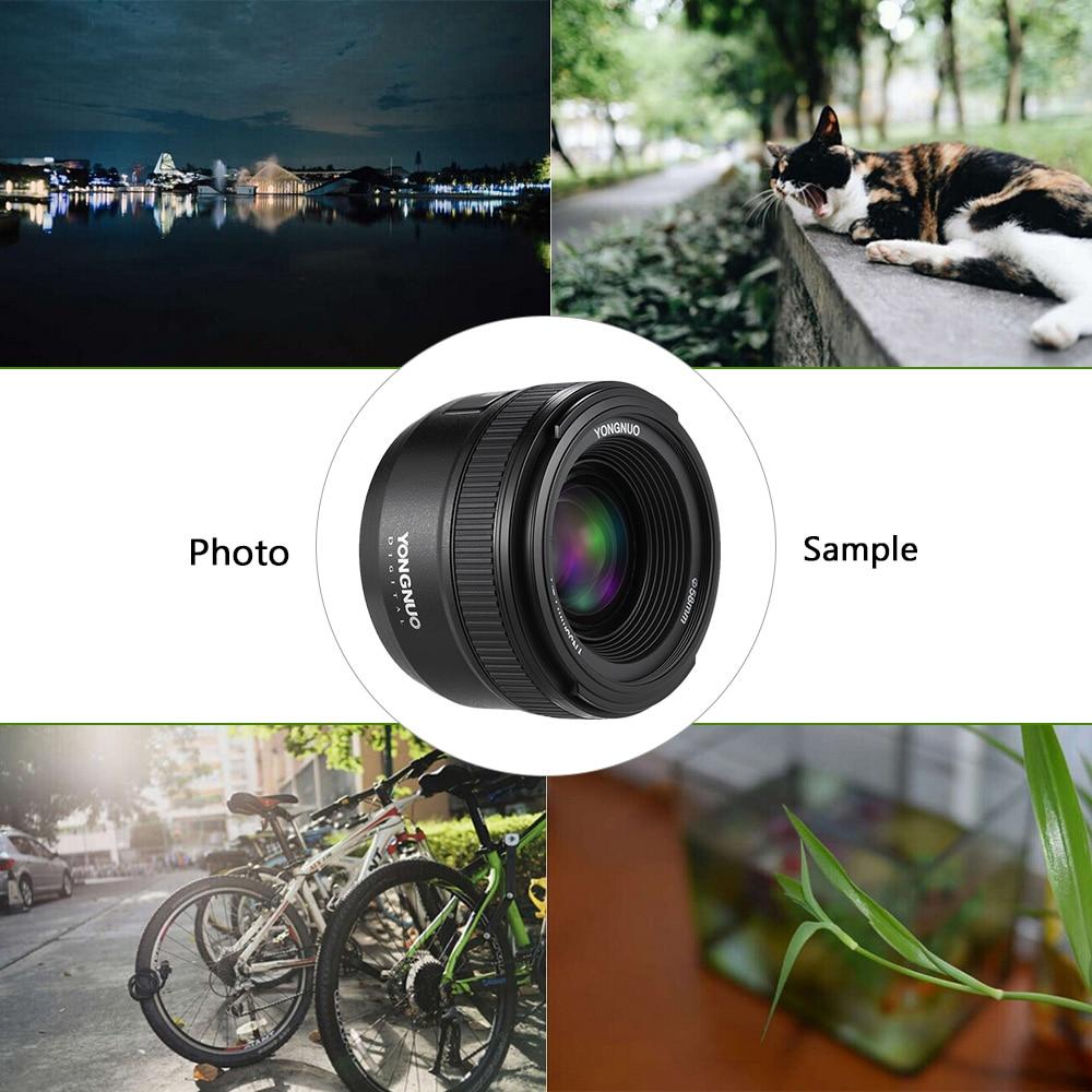 INSEESI vidvinkel stor bländare YN35mm F2 Fast autofokus objektiv - Kamera och foto - Foto 5