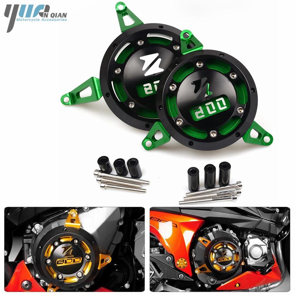Кавасаки z800 Z от 800 2013-2017 мотоцикл двигателя статора Крышка Мото ЧПУ Двигатель Защитная Крышка левой и правой части протектора