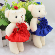 Wholesale cartoon teddy bear wedding doll gift font b baby b font girls font b toys