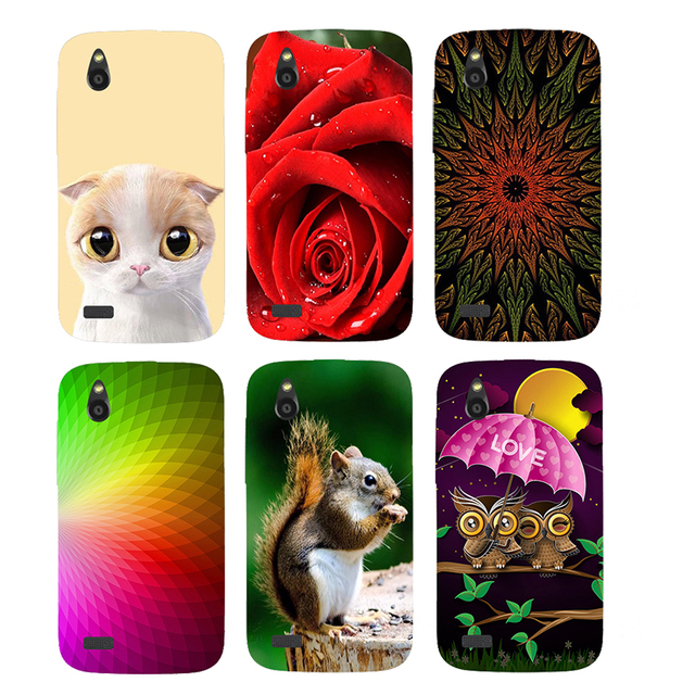 best service cffa3 36db1 US $2.51 30% OFF Case For HTC Desire V T328W Desire X T328E Back Cover  Flower Plants Original Hard Plastic Printed Cat Owl Animal Phone Case-in  Fitted ...