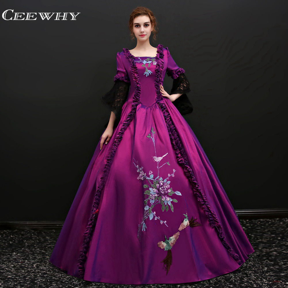Purple Evening Gowns