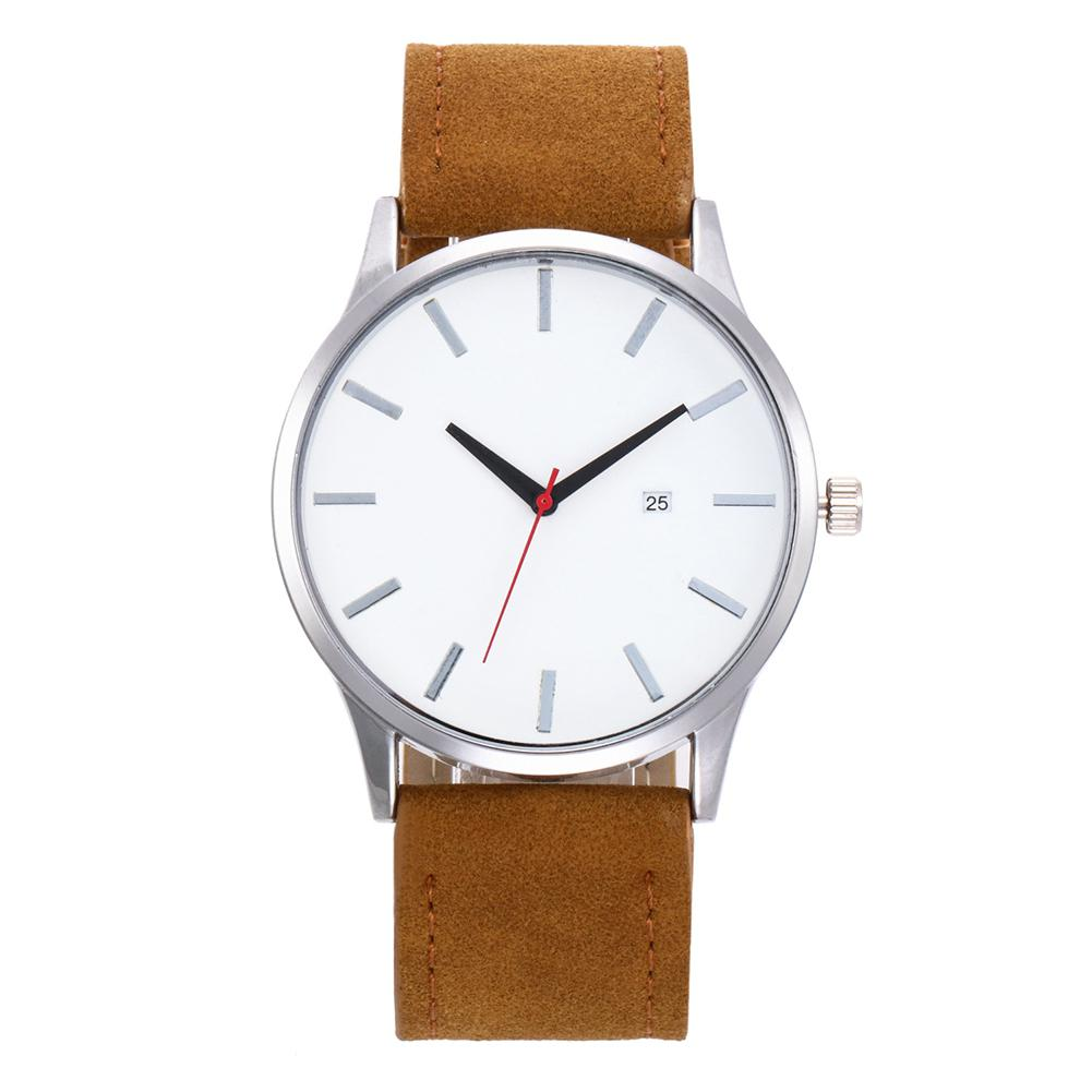 LinTimes Lovers Unisex Female Male Waistwatches Fashion Simple Elegant Leather Belt Quartz Watch For Women Men