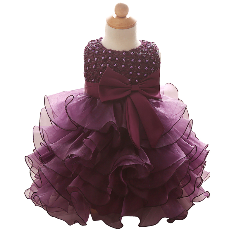 1 Year Birthday Outfit Dress For Girl Party Wear Baby Girl
