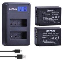 Batterie de caméra 2x1040mAh pour appareil photo LP E17 E17 avec double chargeur USB LCD, pour Canon EOS M3 M5 M6 750D 760D T6i T6s 800D 8000D Kiss X8i