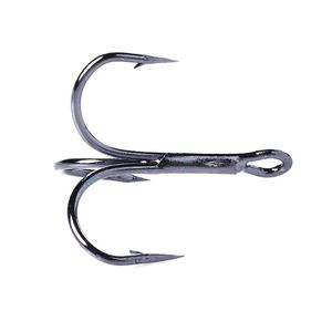 Image 5 - 20 Pcs/Set Fishing Hook Triple Hooks High Carbon Steel Sharp Barbed Tip Tackle Accessories 4#6#8#10#