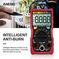 ANENG V03B ЖК-Аналоговый Цифровой мультиметр тестер 4000 отсчетов мультиmetro измеритель esr мультиметр автоматическое отключение от пикового Авто м...