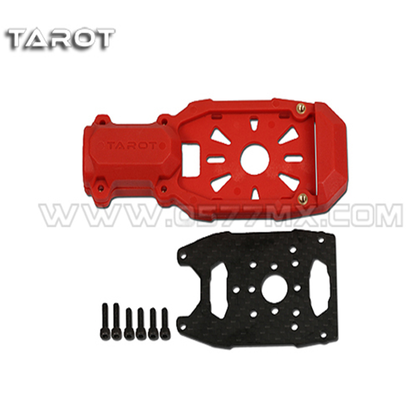 Multi Rotor Helicopter parts Tarot 16mm clamping type motor mount red TL68B26