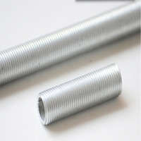 2pcs LED screw tube M10 rod hollow outer tube m10 full tooth lamp accessories hollow thread tube bolts
