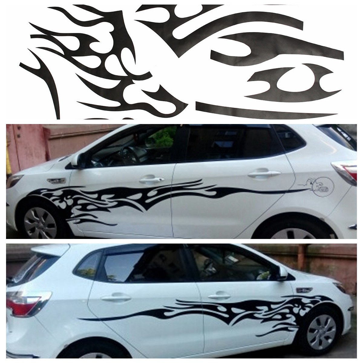 Popular Black Car GraphicsBuy Cheap Black Car Graphics Lots From - Decal graphics