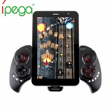 Discount! iega PG 9023 PG9023 Bluetooth Game Controller Gamepad For Smartphone iOS Android ipad PC Stretch Joystick with Stand Telescopic