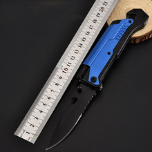 Knives Folding knife Survival Tactical Knife Combat Camping Hunting Utility Pocket Knives with Led Light EDC Outdoor Multi Tools bgt rajah iii black folding pocket knife with aus cts blade survival combat utility knives outdoor tactical hunting edc tools