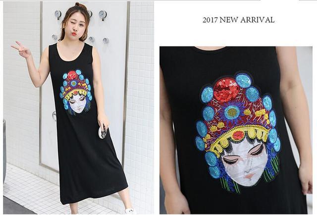 Frauen Sommer China wind durch die Maxi Kleid Hohe Qualität Lange ...