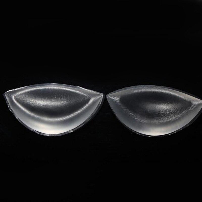 Shemale Silicone Bra Inserts Invisible Pads Brystforme Kvinner Push - Helsevesen - Bilde 3