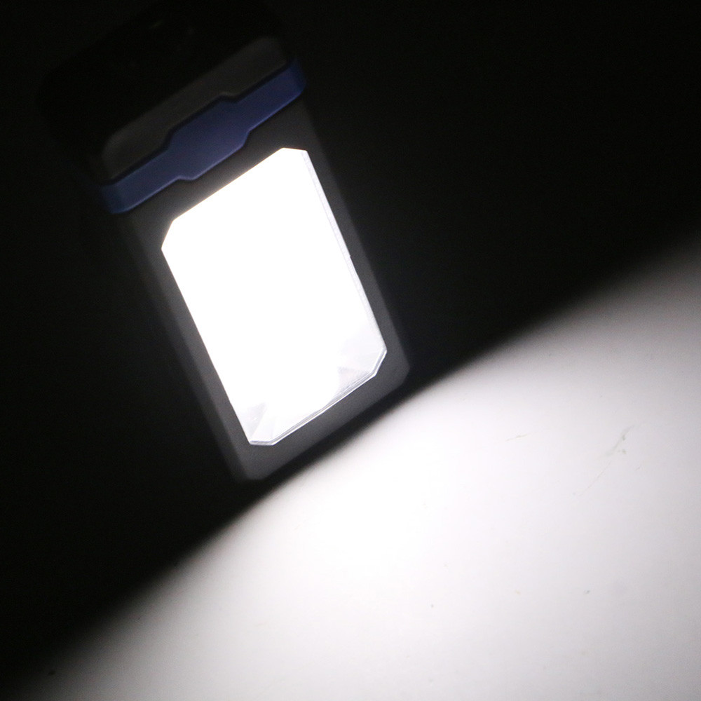 COB Solar LED Rechargeable Work Light Magnet Flashlight Torch