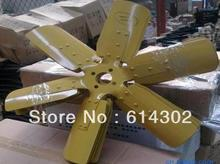 купить weifang 6105 series diesel engine fan for weifang 75kw-120kw diesel generator parts по цене 2784.36 рублей