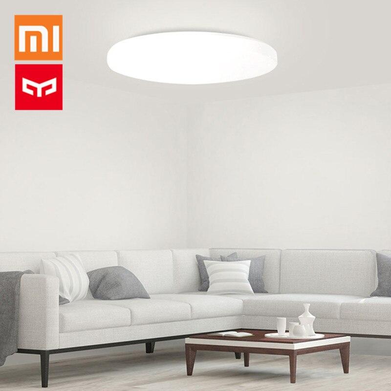 XIAOMI luz Yeelight JIAOYUE LED luz de techo 650 WiFi/Bluetooth/APP Control alrededor de iluminación ambiental 200-240 V