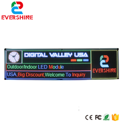 DIY P6 outdoor LED Display screen P6 SMD full color Module 36pcs 2pcs Control card and 1 pcs power Supply