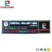 Venta DIY P6 pantalla LED para exteriores P6 SMD módulo a todo color 36 Uds 2 uds tarjeta de Control y 1 Uds fuente de alimentación