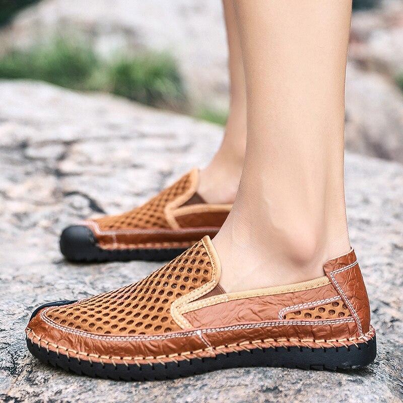Décontractées Homme Zongse Hkimdl lanse Sandales Chaussures Hommes 2019 Léger Arrivent Marque Respirant Nouveau Maille Mode D'été Plat De Nouveaux lvse PZuXkiOT