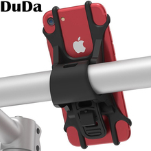 DuDa New Silicone Support Band Bicycle Mobile Phone Holder Bike Handlebar Mount For huawei honor iPhone