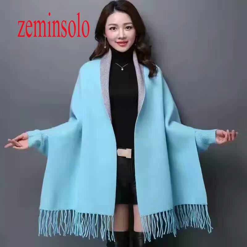 180*65 cm De Luxe Marque Femmes D'hiver Foulards Poncho Vintage Couverture Manches Femmes Bandana Lady Châles Cachemire Écharpe Hijab volé