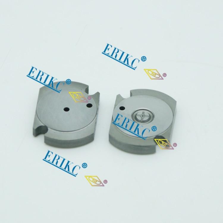 ERIKC car nozzle control valve, new double valve plate suitable for CR injector 095000-0770, 0950000770 & 095000 0770 1 piece new injector valve plate for injector 095000 5600