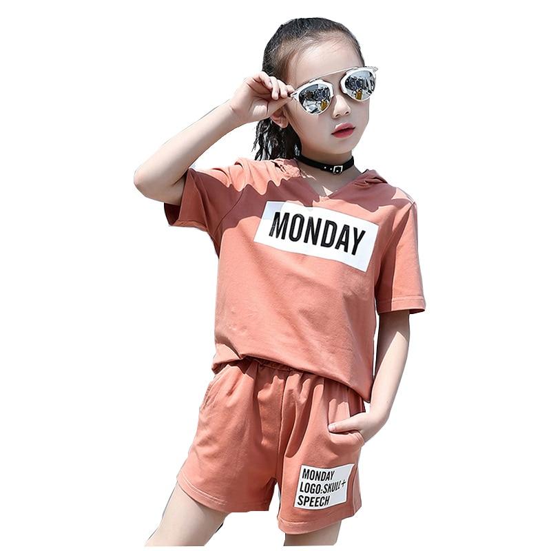 Mädchen Kleidung Neue Sommer 2018 Mädchen Kleidung Sets Kinder Mit - Kinderkleidung