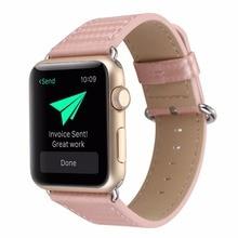 XQ145 38/42 мм ремешок для наручных часов iwatch, углеродное волокно кожаный ремешок сменный ремешок для часов с классической пряжкой для наручных часов Apple Watch