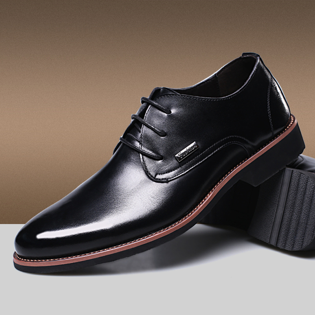 Mens Pointed Toe Dress Shoes