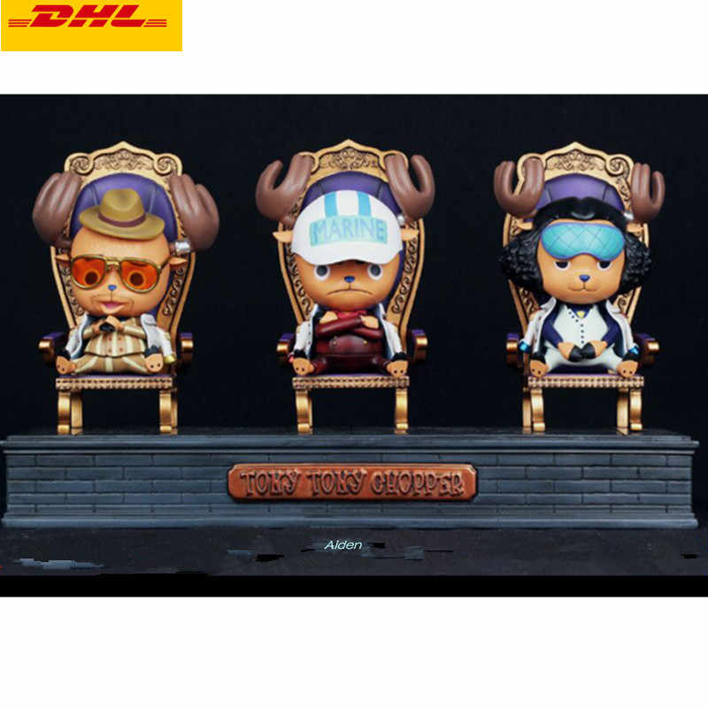 3 יח'\סט פסל אחד חתיכה כהה המטה בכיר כללי טוני טוני ופר Sakazuki Kuzan GK פעולה איור צעצוע תיבת 16 CM B431