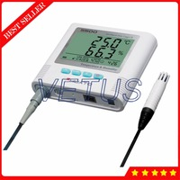 S500 EX RJ45 External 3m Sensor Temperature Humidity Data Logger Datalogger with RJ45 interface Digital Thermometer Hygrometer