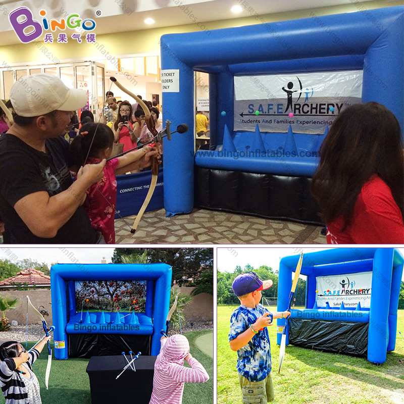 Personalized 3X1 5X2 5 meters inflatable archery inflatable target stand archery archery game toys sports