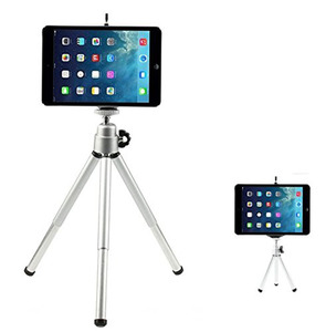 Image 3 - Kaliou Silver Color Camera Phone Professional Mini Tripod Travel Stand Holder for Gopro 7 6 5 4 3+ 2 1 Mobile Phone iPhone Samsu