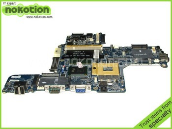 LA-2791P LAPTOP MOTHERBOARD for DELL LATITUDE D620 HAL00 R894J RT932 GK187 F923K INTEL DDR2
