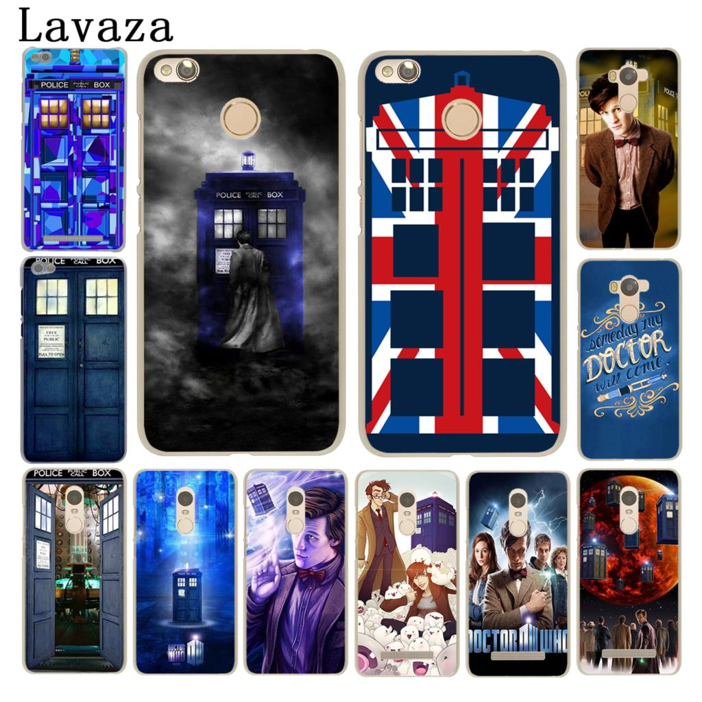 Lavaza Tardis Box Doctor Who Phone Case for Xiaomi Mi A1 6 5 5S 5X Mi6 Mi5S Mi5X MiA1 Redmi Note 4X 4A 4 Pro 5 Plus 5A Prime